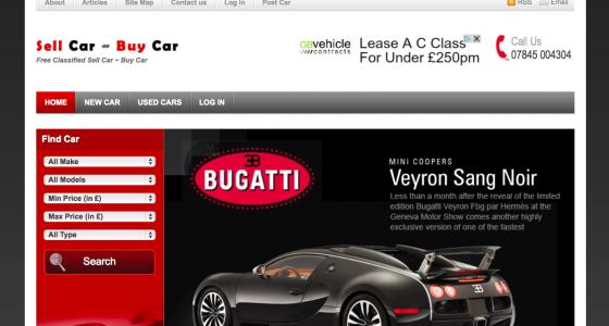 sell car online website