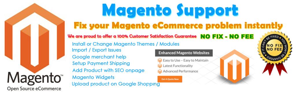 fix magento website, fix magento errors