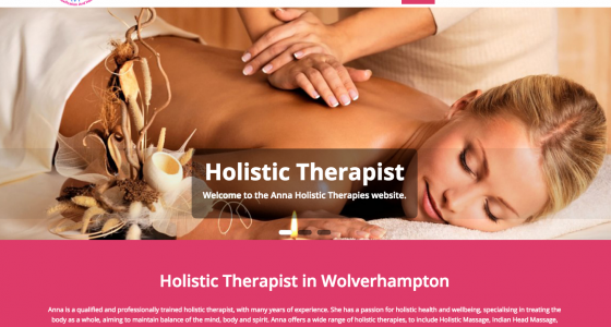 Holistic Therapist in Wolverhampton